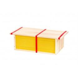 Honingkamerramen gemonteerd met was 10 stuks