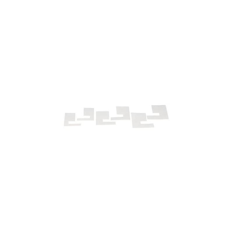 6 U-Verdampkartonnetjes Voor De Nassenheider Horizontaa