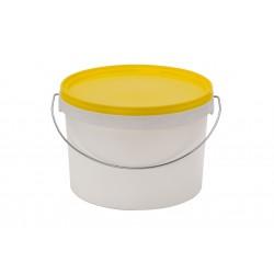 Emmer met deksel 2,5 liter